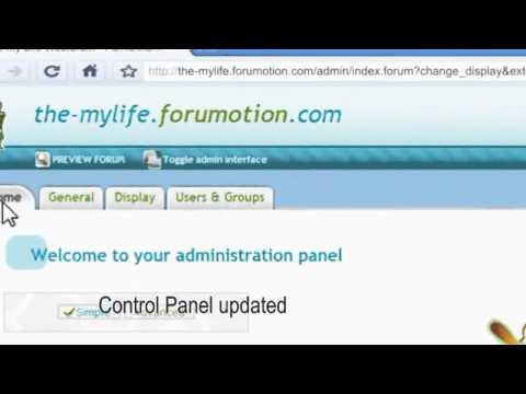 Create a free forum