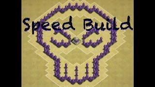 Clash Of Clans - Town Hall 5 Skull Base | Speed Build