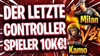 🤯🎮DER LETZTE CONTROLLER SPIELER IM 10.000€ TURNIER! | Kamo unbesiegbar im 1vs4?!