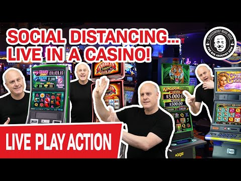 🔴 Playing LIVE & Playing SAFE 😷 Virus Can't Keep Us From The CASINO