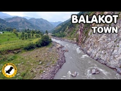 Balakot Town - Mansehra District - Khyber Pakhtunkhwa - Pakistan