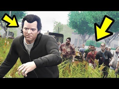 GTA 5 - Playing as a ZOMBIE!! (Apocalypse) thumbnail