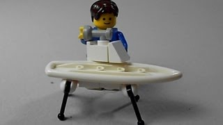 Lego Tutorial | How To Build A Ironing Board