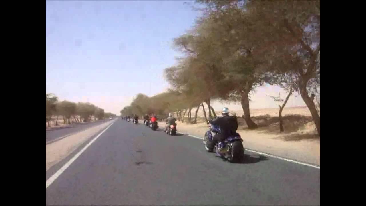Kuwait Riders At US Army Camp Arifjan