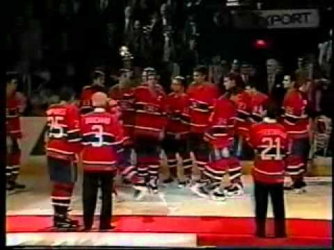 1995-96 - Montreal Forum Closing Ceremonies - Pass the Torch