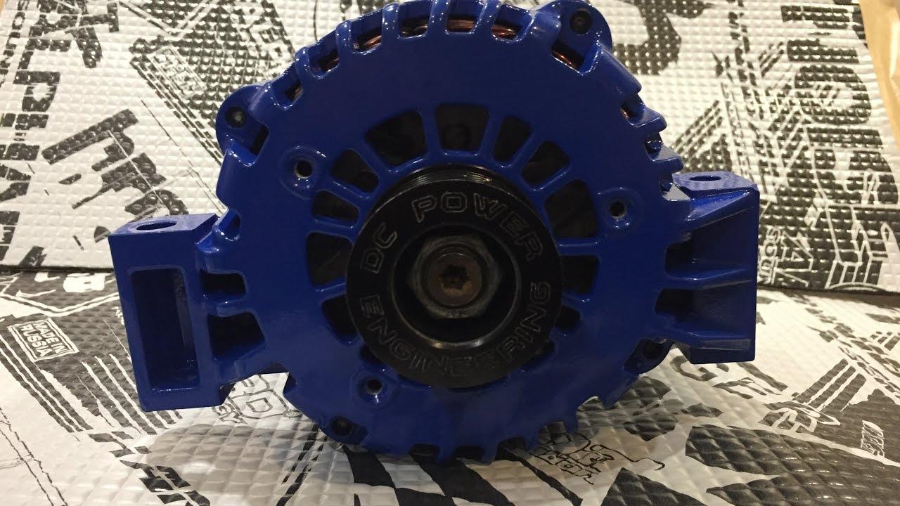 Установка генератора повышенной мощности на Subaru