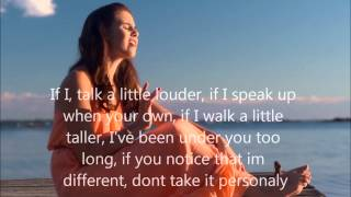 Carly Rose Sonenclar - Brand New Me LYRICS