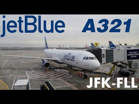 jetBlue A321 Trip Report JFK-FLL