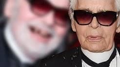 Karl Lagerfeld - Ein Lachen enthüllt seine Zahnlücken: So haben wir den Modezar noch nie gesehen