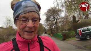 Morgonpass med Eina Roxström som gör sitt 40:e Stockholm marathon