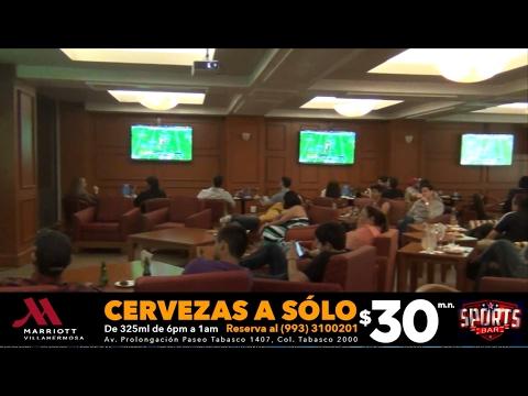 Así se vivió el Super Bowl LI en el Sports Bar del Hotel Marriott