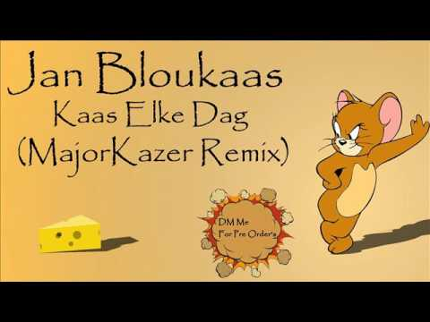 Jan Bloukaas-Kaas Elke Dag (MajorKazer Remix) *Teaser*