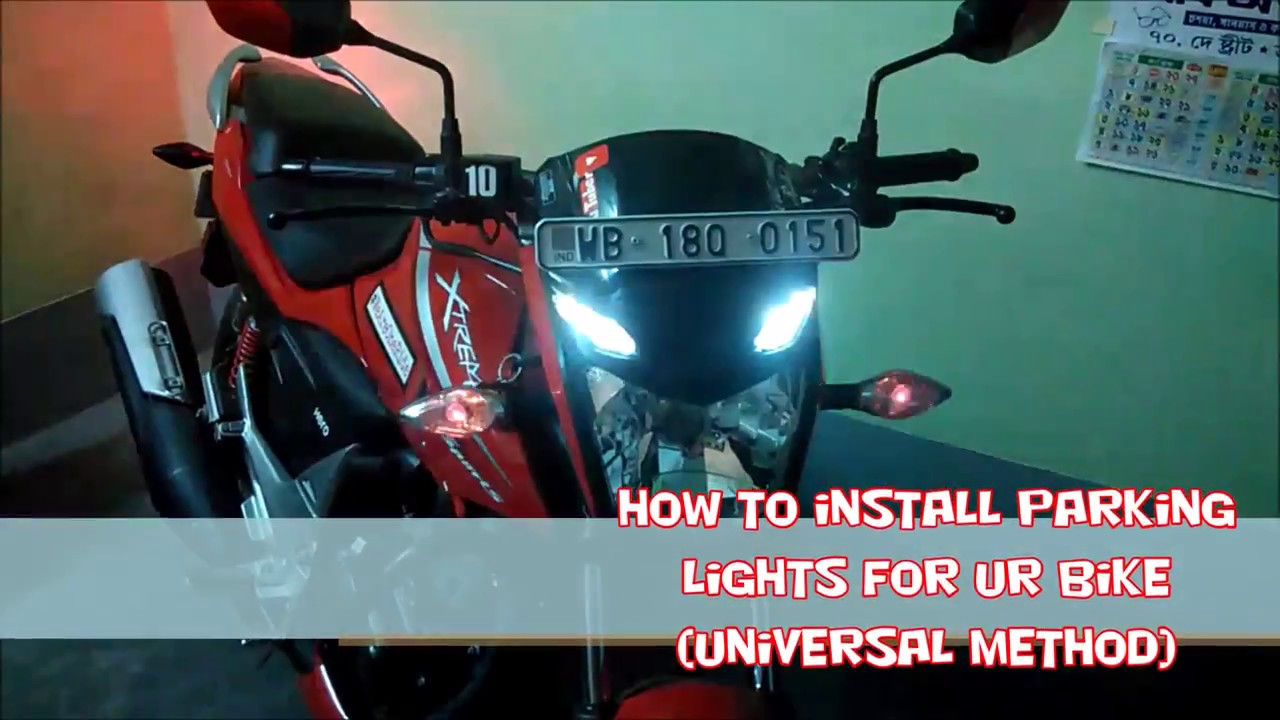 How to install a parking light || Universal Method || TiP & triCks ...