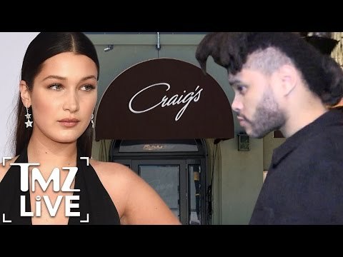 The Weeknd's Dinner Disaster At West Hollywood Restaurant | TMZ Live