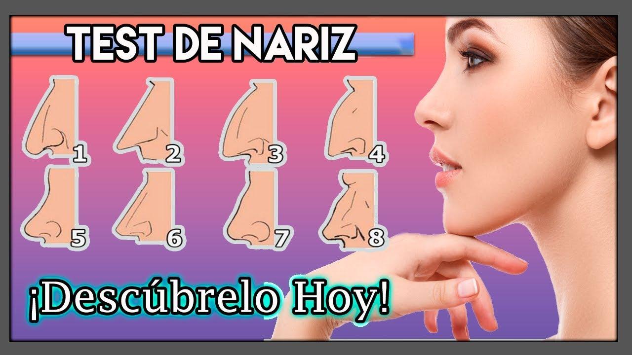 Test de Nariz ¿Lo que significa la forma de tu Nariz? ¡Descúbrelo hoy!