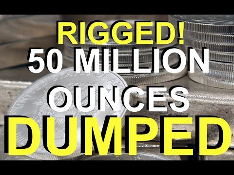 50 Million Oz Dumped - Silver Market is Rigged! | Rob Kirby