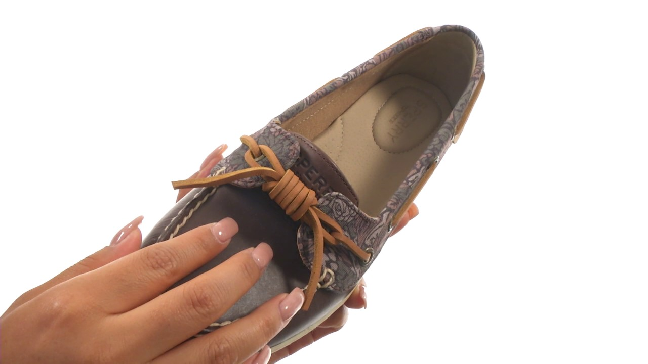 763006cb9bec Sperry Barrelfish Animal Print SKU:8896216 - YouTube