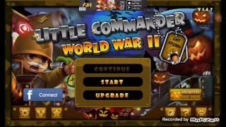 LITTLE COMMANDER WORLD WAR 2