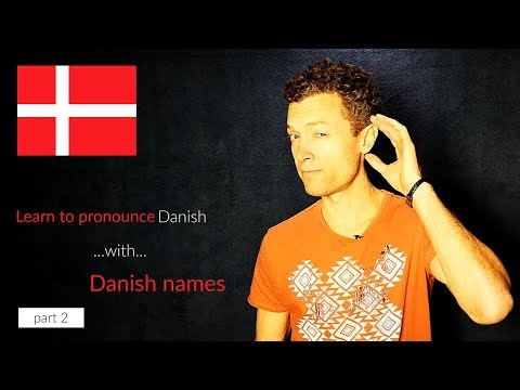 Can You Pronounce Danish Names Pt.2
