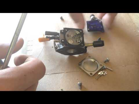 How to disassemble a ryobi blower walbro carburetor