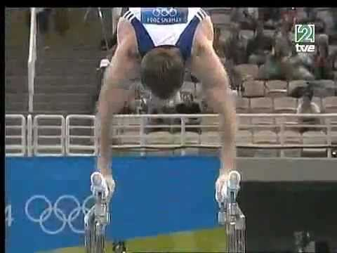 Paul Hamm (USA) - Parallel Bars AA @ Athens Olympic Games 2004