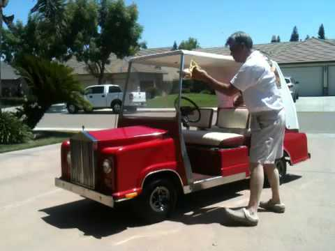 Rolls Royce Golf Cart >> Rolls Royce Golf Cart Youtube