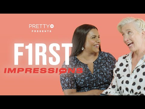 Emma Thompson's impression of Beyoncé is brilliant! | First Impressions