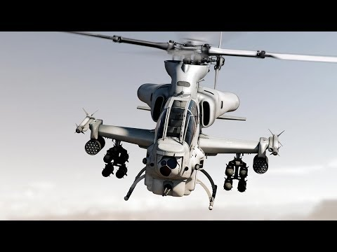 Bell AH-1Z Viper: The Super Revolusioner Attack Helicopter in U.S. Air Force