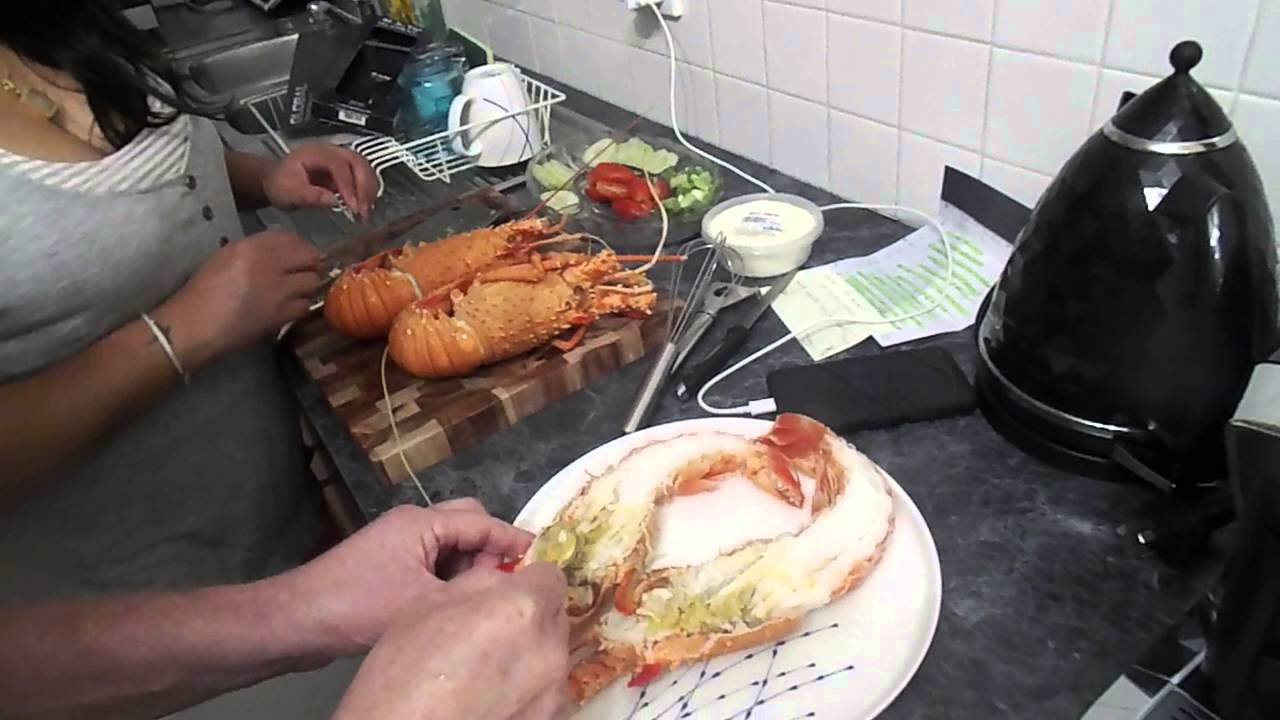 how to prepare and cook lobster