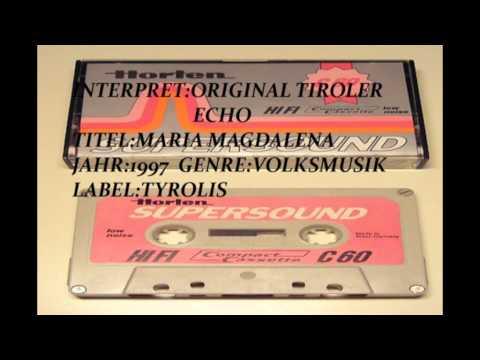 ORIGINAL TIROLER ECHO MARIA MAGDALENA