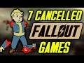 7 Fallout Games That ALMOST Existed - Cancelled Fallout Games