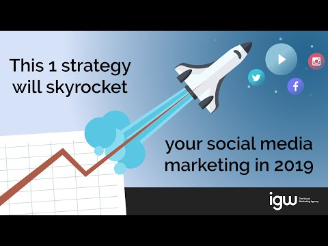 Dominate Your Social Media Marketing in 2019 with this ONE Video Marketing Trick