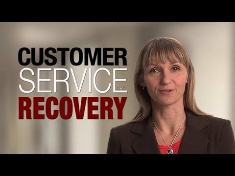 The Right Words at the Right Time - Customer Service Recovery for Business