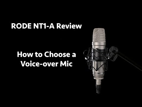 RODE NT1-A Review: How To Choose A Voice-over Microphone