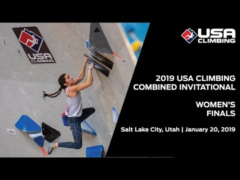 2019 USA Climbing: Combined Invitational | Women's Finals