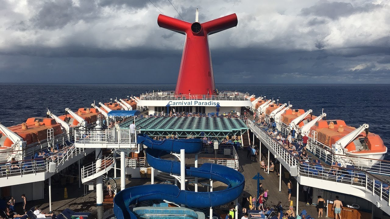 Carnival Paradise Cruise, Tampa