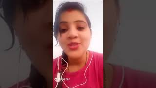 girl live video chatting with boy