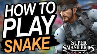 How To Play Snake In Smash Ultimate