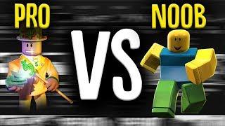Pro vs Noob Jailbreak Roblox