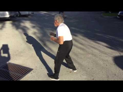 Joe lamotta shadow boxing