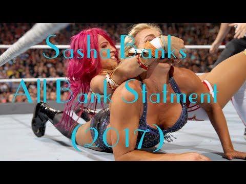 [WWE] Sasha Banks - All Bank Statement(2017)