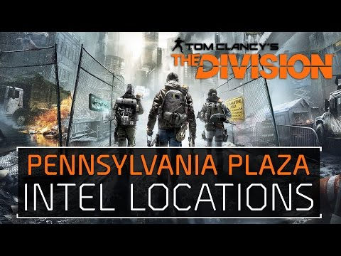 The Division • Pennsylvania Plaza Intel Locations Echos, Guides, Phones, Incidents, & Drones
