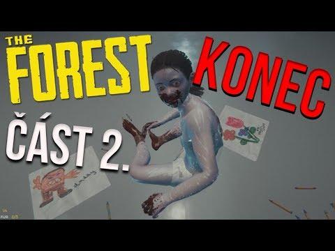 CO TO JE?! | The Forest w/ GEJMR Konec č.2