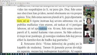 46 | La Sotesana Instruo de Ŭonbulismo | 에스페란토 원불교 대종경 공부 (zoom)