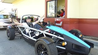 Taking the Ariel Atom to McDonalds