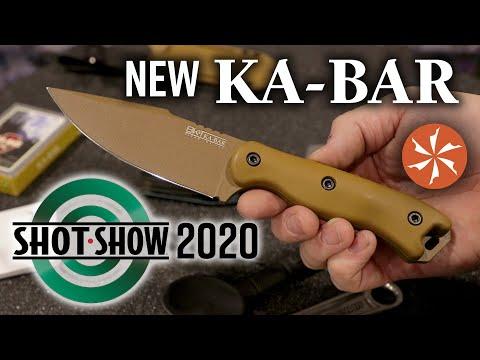 New KA-BAR at SHOT Show 2020 - KnifeCenter Coverage feat. Ethan Becker and Jesse Jarosz