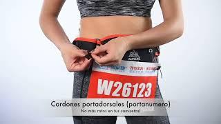 Cinturón de Hidratación Anatómico Aonijie.
