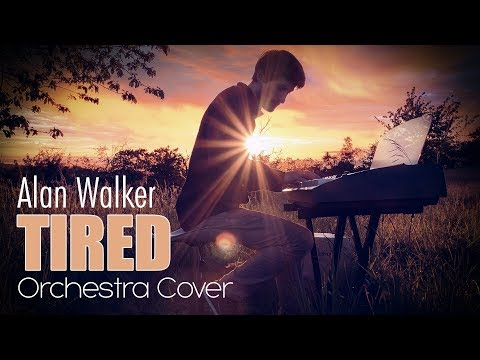 Tired - Alan Walker feat Gavin James Piano Orchestral Cover Mathias Fritsche