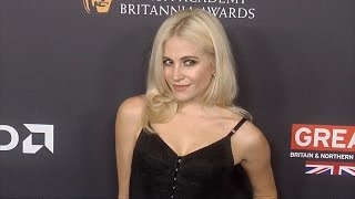 Pixie Lott Walks The Carpet 2016 Britannia Awards