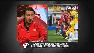 """Mauricio Pinilla: """"Antes la idea era que Brasil nos metiera la menor cantidad de goles"""""""